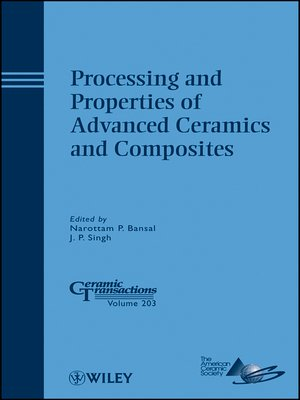 cover image of Processing and Properties of Advanced Ceramics and Composites